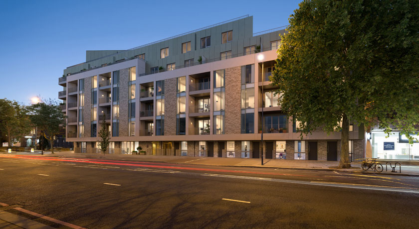 All change at The Tramyard: former depot in Balham transformed into 70 new-build homes