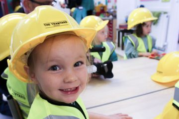 Nursery students visit development in Balham