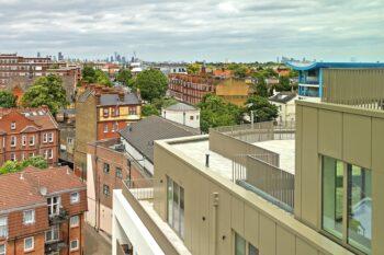 tramyard - balcony - view - balham